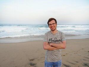 Mark Sprenger in Zuid Afrika